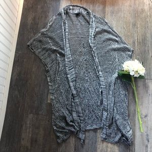 Torrid | Grey Open Knit Long Cardigan